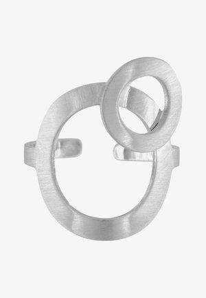 THEIA OPEN DOT - Ring - rhodium plating
