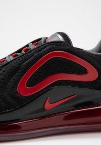 Nike Sportswear - AIR MAX 720 - Sneakers basse - black/university red/white - 2