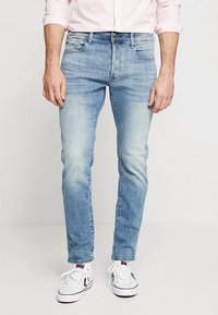 G-Star - 3301 SLIM - Slim fit jeans - elto superstretch - lt indigo aged - 0