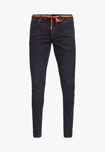 CULVER PERFORMANCE - Skinny džíny - blue black denim