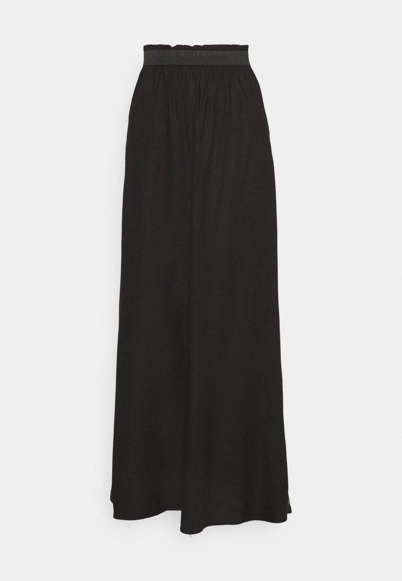 ONLY Tall - ONLVENEDIG PAPERBAG LONGSKIRT - Maxi sukně - black