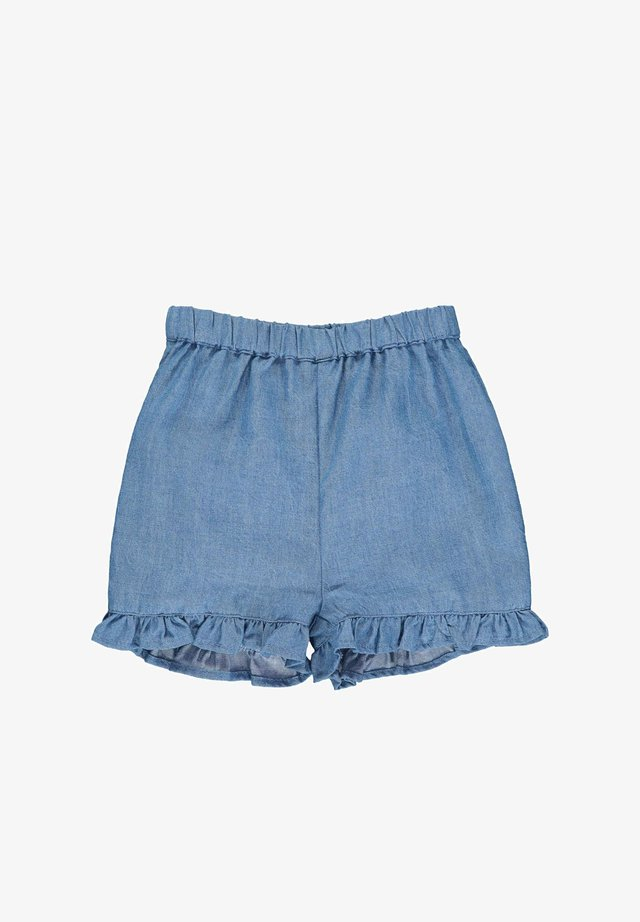STEIFF COLLECTION JEANS SHORTS MIT GUMMIZUGBUND - Jeans Shorts - colony blue