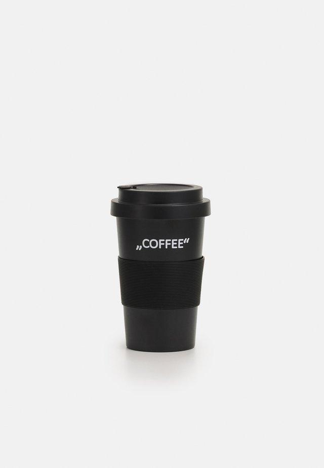 LETTERED COFFEE MUG UNISEX - Altri accessori - black
