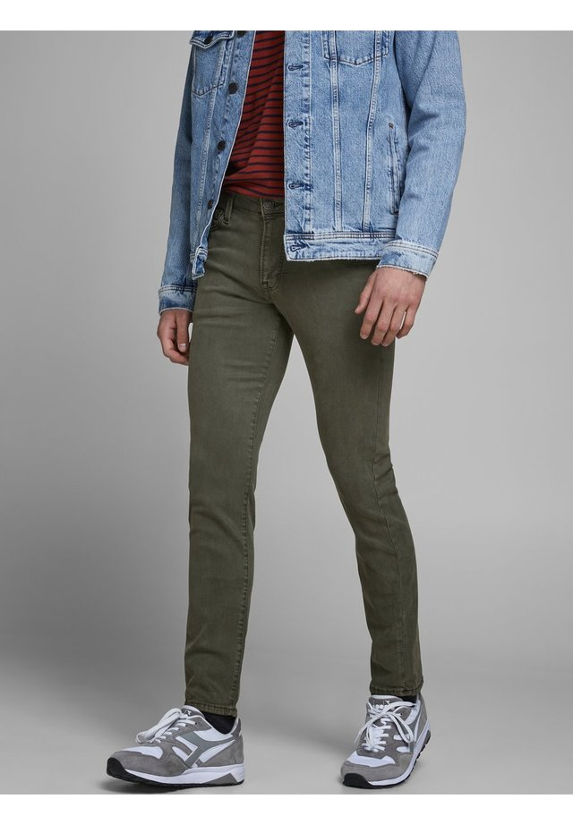 Slim fit jeans - forest night
