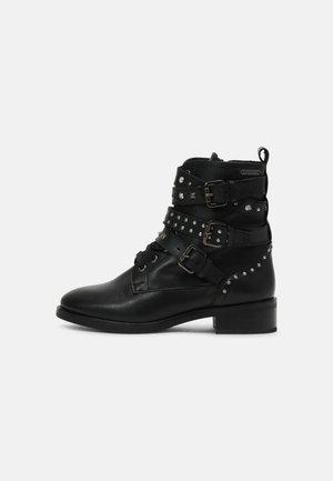 ORSETT ROCK - Bottines à lacets - black