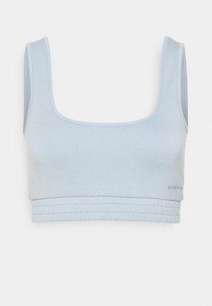 MILA LOUNGE BRALETTE - Pyjama top - powder blue