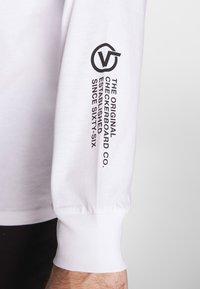 Vans - DISTORTION - Langarmshirt - white - 3