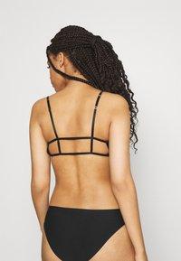 Weekday - LEONA SOFT BRA - Triangle bra - black - 2