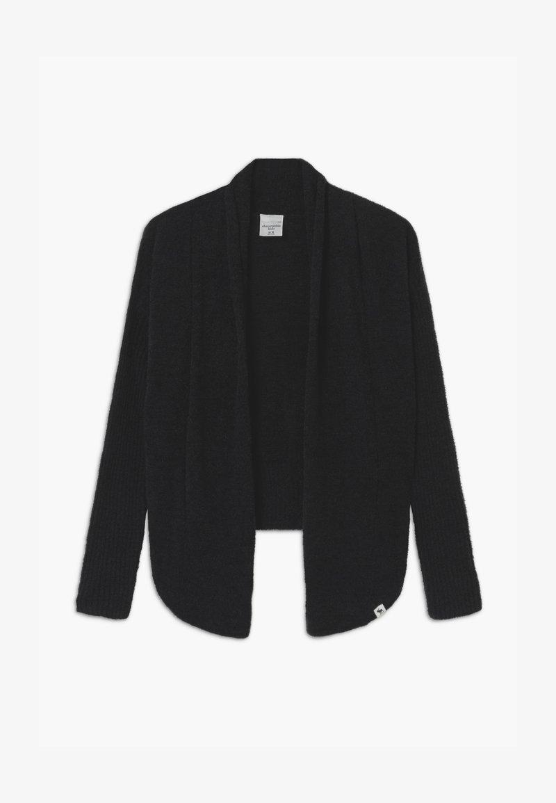 Abercrombie & Fitch - UNIFORM - Cardigan - black