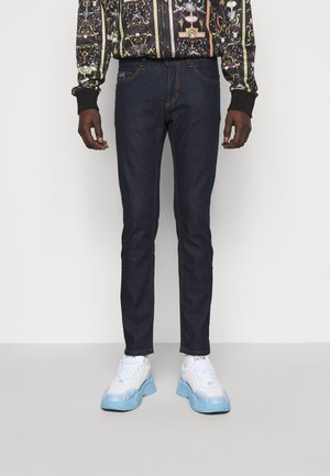 DRILL - Skinny džíny - light-blue denim