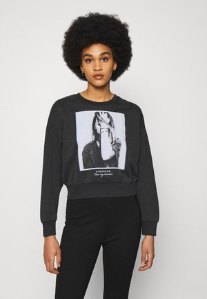 ONLLUCINDA LIFE PHOTO BOX - Sweatshirt - black