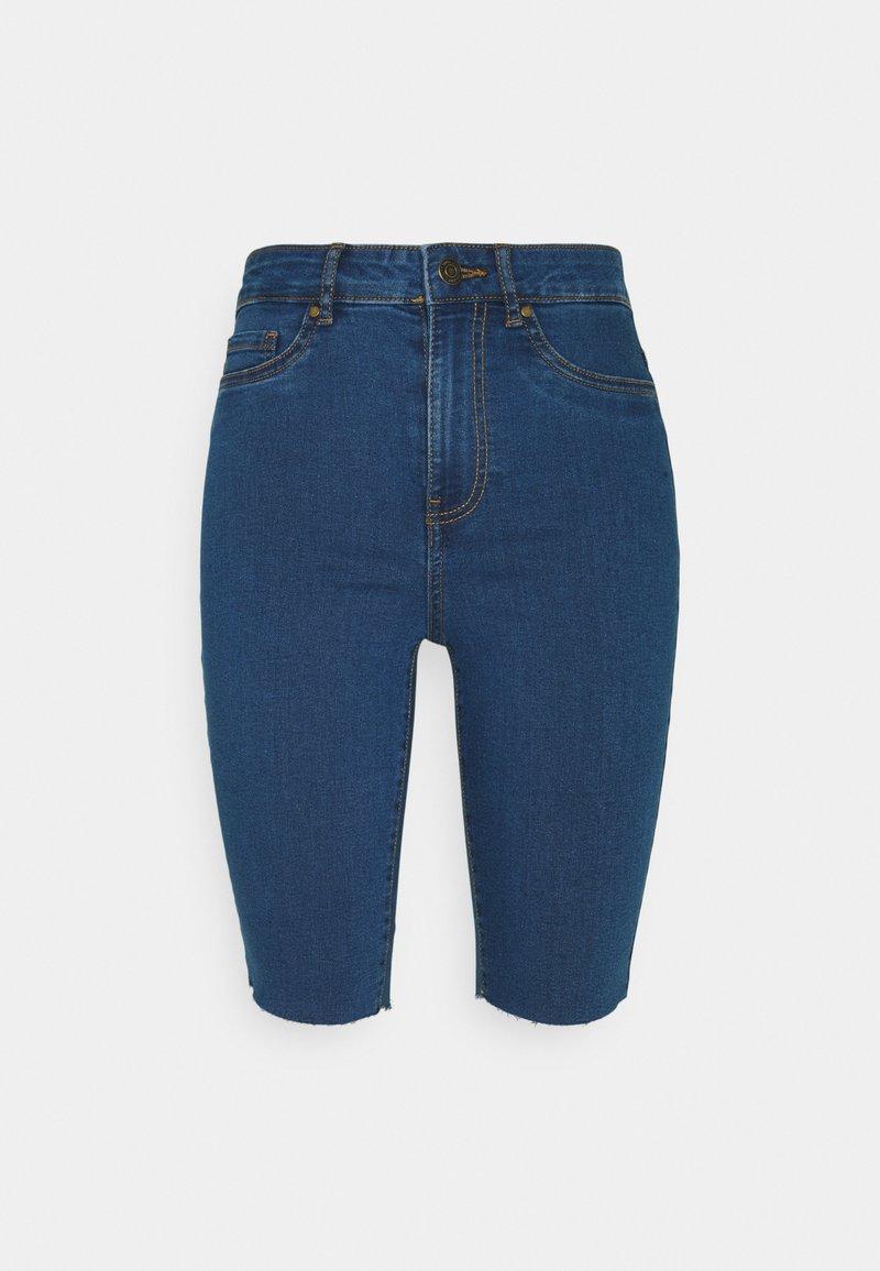 Vero Moda - VMJOY JUDY - Denim shorts - medium blue denim