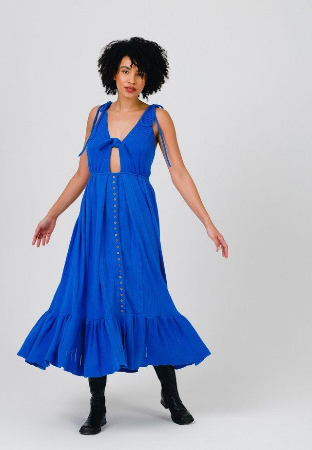Maxi-jurk - cobalt blue
