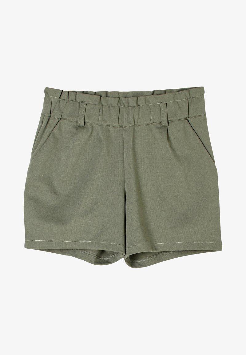 s.Oliver - MIT PAPERBAG-BUND - Shorts - olive
