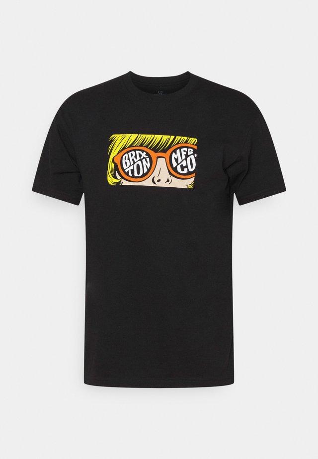 GLARE - T-shirt imprimé - black