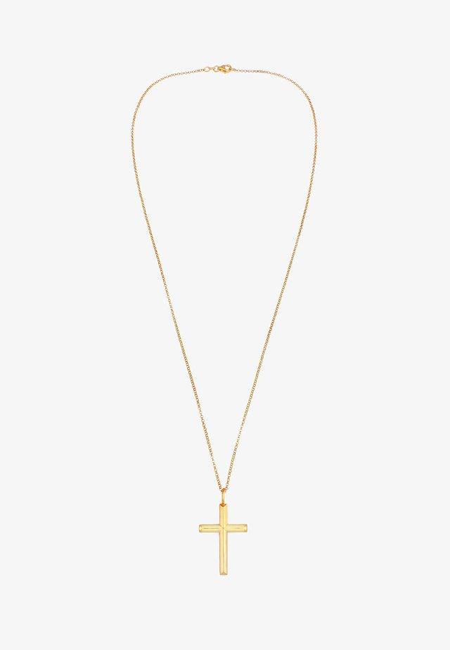 KREUZ - Collier - gold