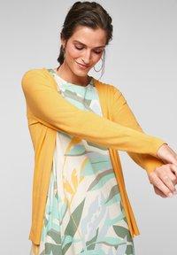s.Oliver - VESTE - Cardigan - bright yellow - 0