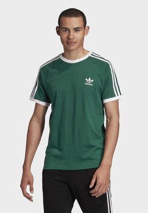 3-STRIPES T-SHIRT - T-shirt z nadrukiem - green