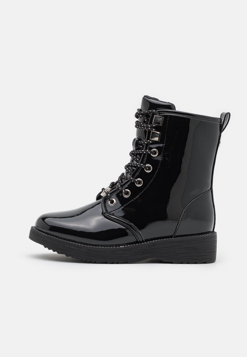 MICHAEL Michael Kors - HASKELL - Lace-up ankle boots - black