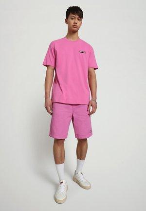 S-PATCH SS - T-shirt - bas - pink super