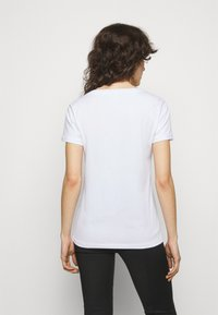 Patrizia Pepe - MAGLIA - T-shirt imprimé - bianco ottico - 2