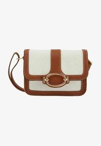 Pieces - Handbag - cognac - 0