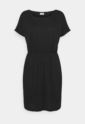 JDYKAREN FROSTY FRILL DRESS - Jerseykjole - black