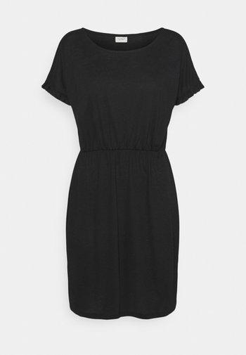 JDYKAREN FROSTY - Jersey dress - black