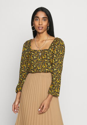 BSPRIMA  - Blouse - black yellow
