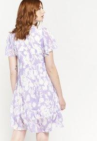 LolaLiza - GRAPHIC PRINT - Day dress - purple - 2