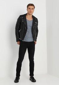 Serge Pariente - ROCKY - Leather jacket - black - 1