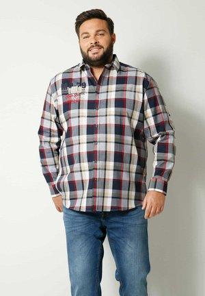 Shirt - marineblau rot