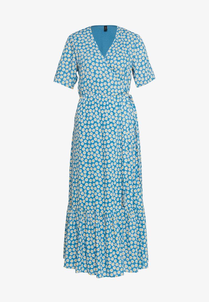 YAS - YASDAISY LONG DRESS - Maxi dress - blue heaven