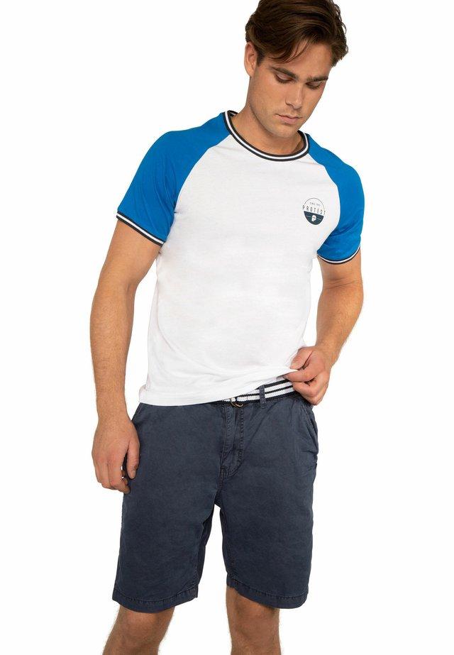 RIBSTON  - T-shirt print - blue