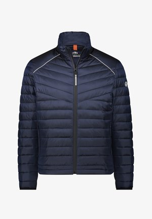 Down jacket - dark-blue plain