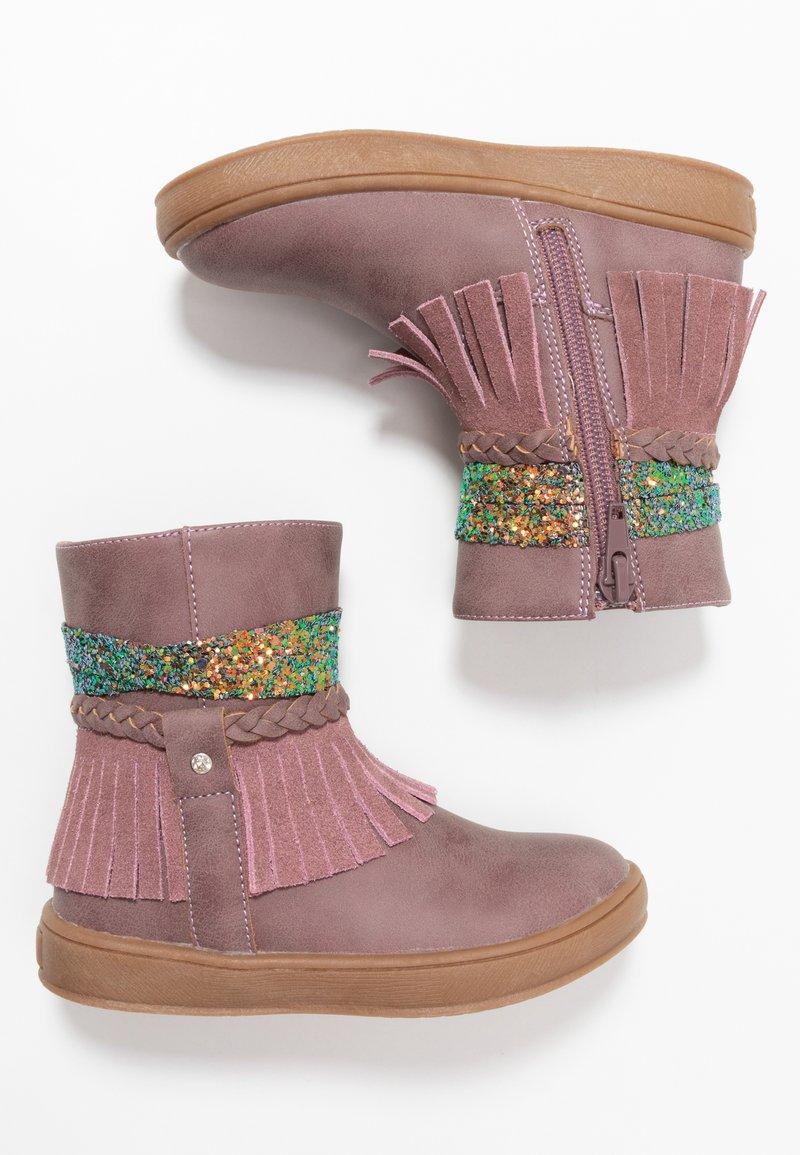 Friboo - Kotníkové boty - mauve