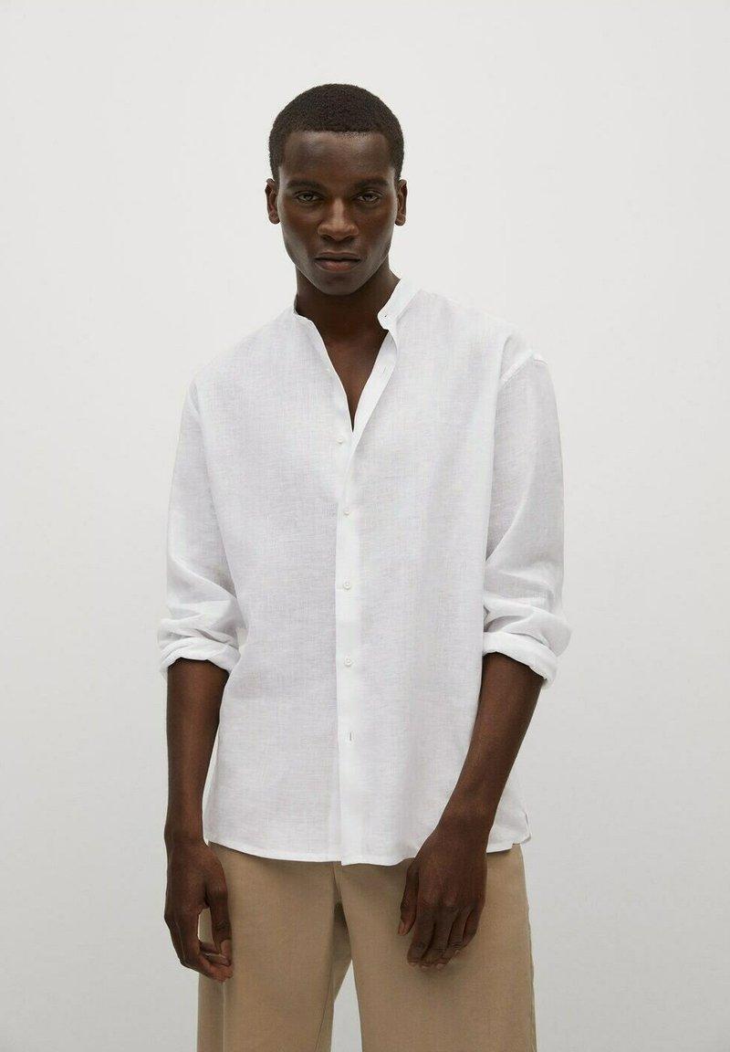 Mango - Shirt - blanc