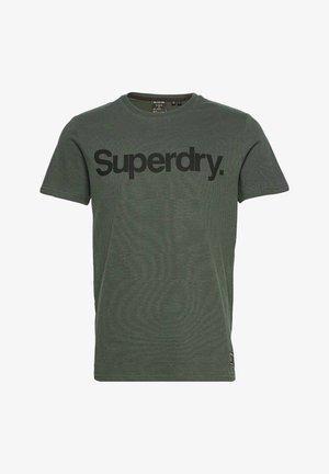 MILITARY GRAPHIC - T-shirt med print - olive noir