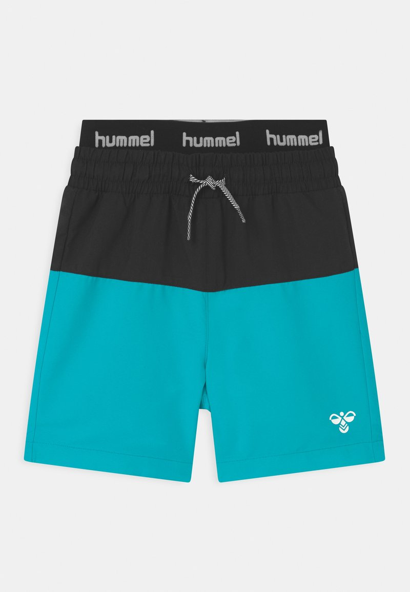 Hummel - GARNER UNISEX - Swimming shorts - scuba blue