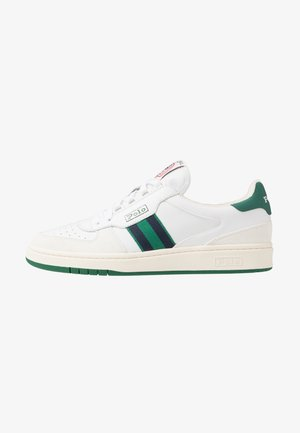 COURT ATHLETIC SHOE - Trainers - white/kelly green