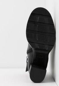 MJUS - Kotníková obuv na vysokém podpatku - nero - 6