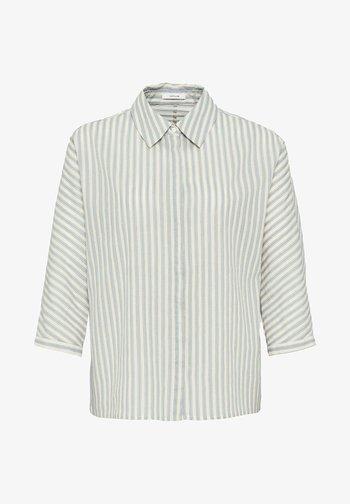 FRONA - Button-down blouse - bleu