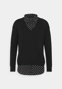 Lauren Ralph Lauren - GASSED COLLAR - Jumper - black - 4
