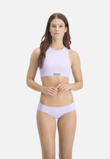 Bikini top - pastel lavender