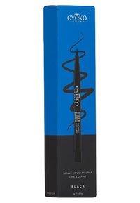 Eyeko - SKINNY LIQUID EYELINER BLACK 0,8ML - Eyeliner - 0 - 1