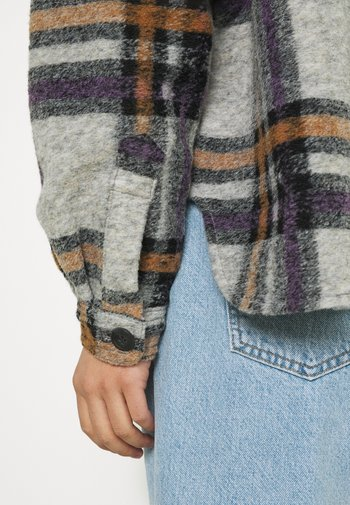 VMCHRISSIE SHORT CHECK  - Summer jacket - hyacinth/tobacco brown/black/light grey melange