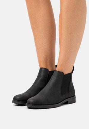 MEMI TOP - Korte laarzen - black