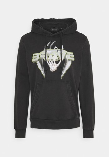 HOOD FELPA - Sweatshirt - black