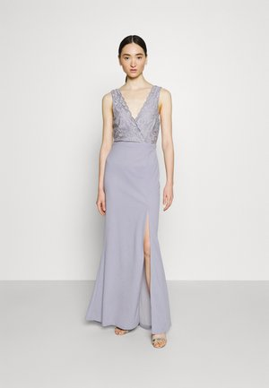 BREAK YOUR HEART LACE GOWN - Vestido de fiesta - dusty blue