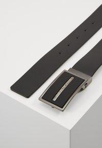 Emporio Armani - CINTURA - Cintura - nero - 2